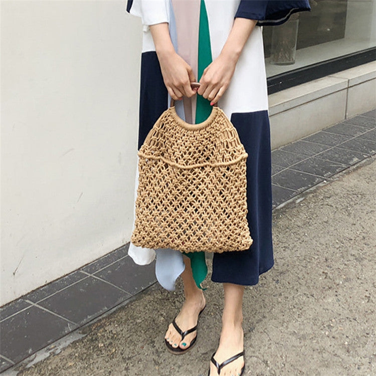 Cotton Tote Bag - Maple