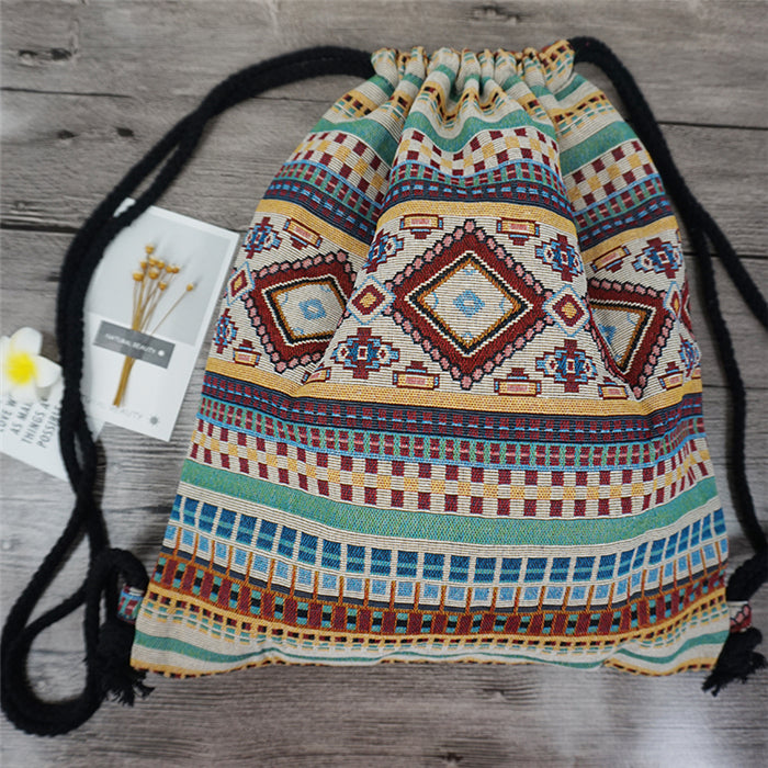 Cotton Backpack - Sunny