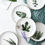 Eden Ceramic Painted Plates