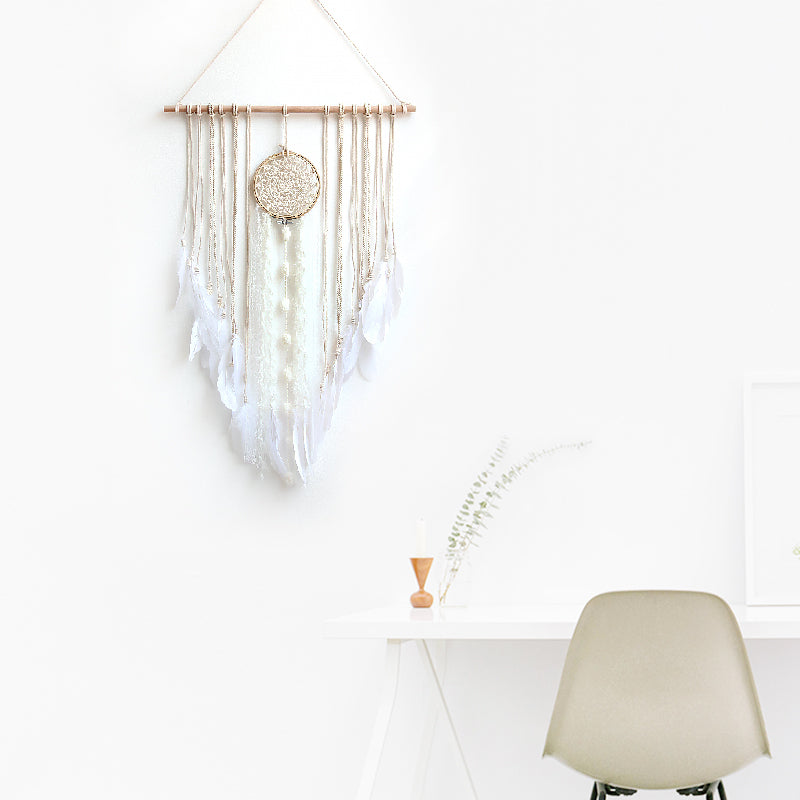 Handmade Tassel & Lace Dream Catcher