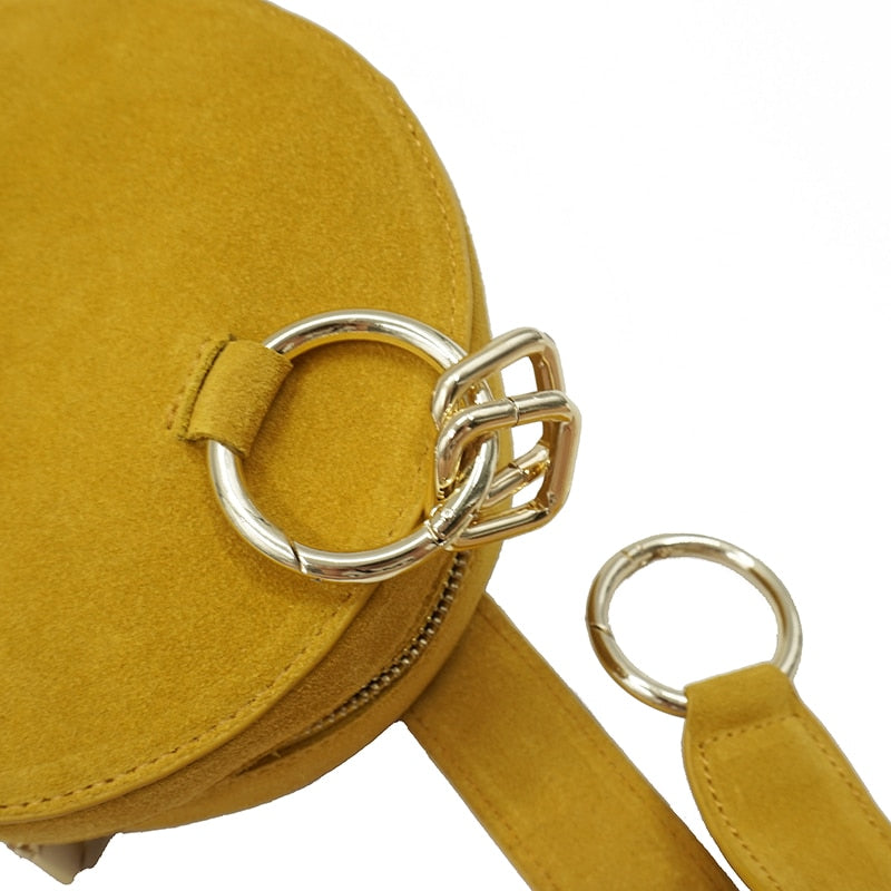 Leather Wrist Bag - Stella