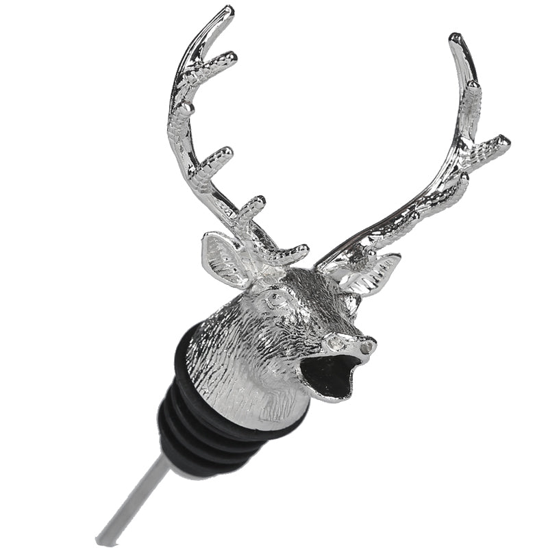 Metal Stag Head Wine Aerator