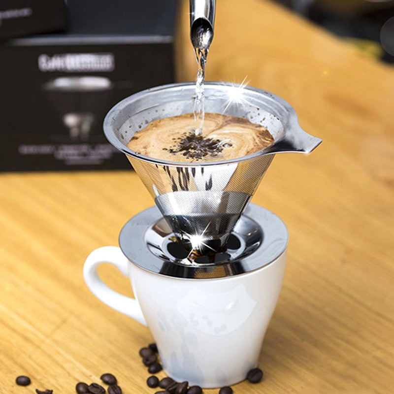 Reusable Stainless Steel Coffee Drip