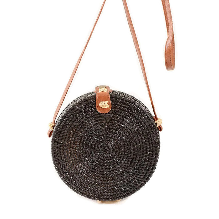 Rattan Crossbody Bag - Summer