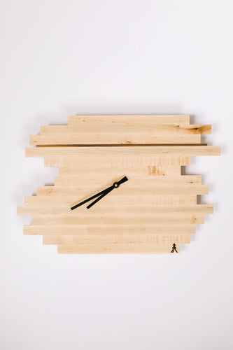 Maple Horizon Clock