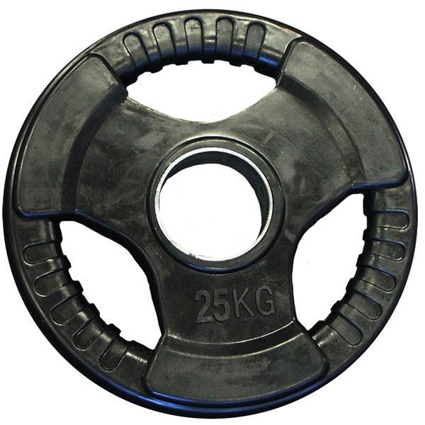 25KG RUBBER COATED OLYMPIC WEIGHT PLATE