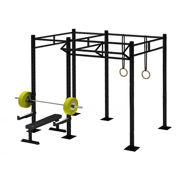 TITANIUM USA 2 CELL RIG WITH 1 TRI BAR FS-2C1T