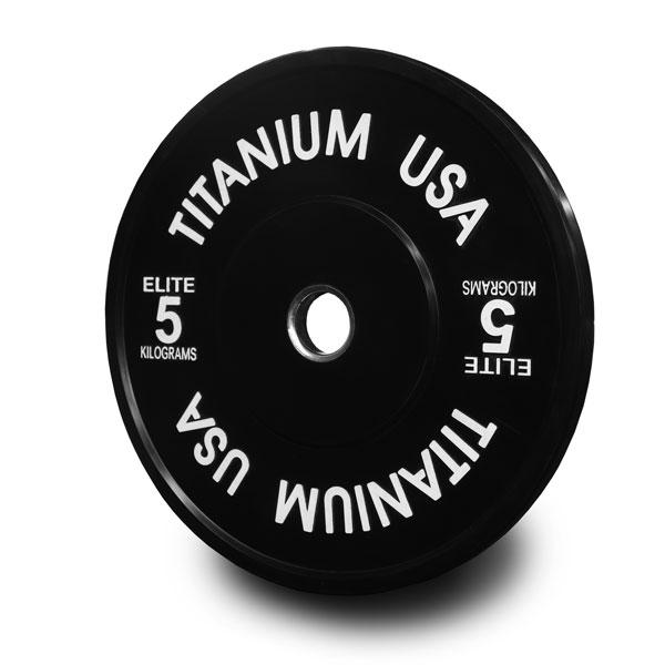 TITANIUM USA 100KG STEALTH SERIES BUMPER PLATE PACKAGE