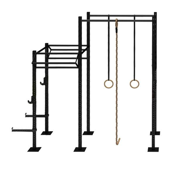 TITANIUM USA 2 CELL NARROW RIG WITH 2 TRI BARS & 2 EXTENSIONS FS-NR2C2T2E