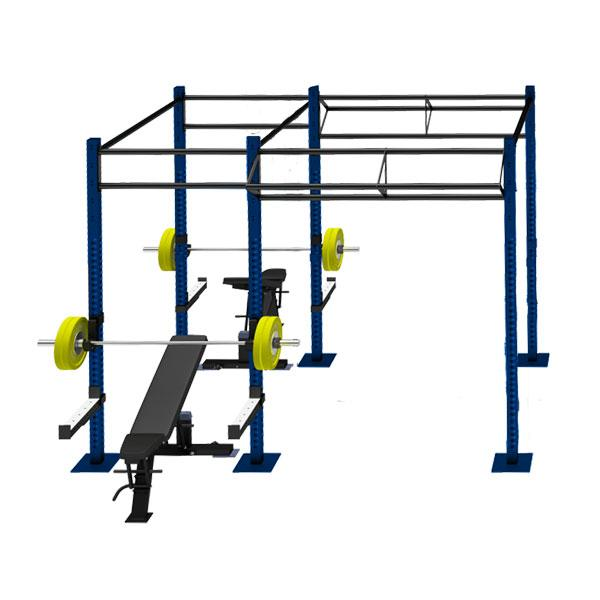 TITANIUM USA 2 CELL RIG WITH 2 TRI BARS FS-2C2T