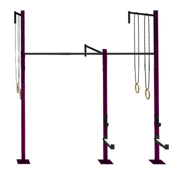 TITANIUM USA 2 CELL WALL MOUNTED RIG WITH 1 EXTENSION WM-2C1E