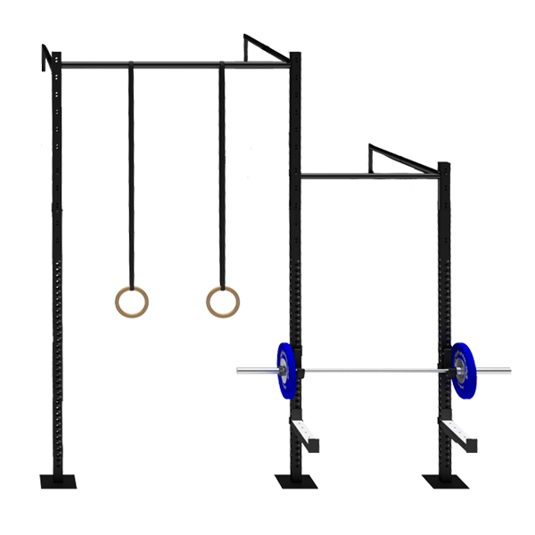 TITANIUM USA 2 CELL SINGLE CROSS BEAM WALL MOUNT RIG WITH 1 EXTENSIONS WM-SCB2C1E