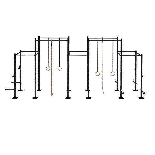 TITANIUM USA 5 CELL SINGLE CROSS BEAMS NARROW RIG WITH 4 EXTENSIONS FS-SCBNR5C4E
