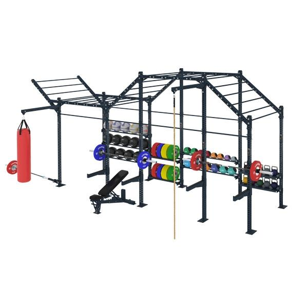 COMPETITION SERIES 4 CELL FREE STANDING MULTI FUNCTION RIG WITH STORAGE CSFS-4CMFR-ST