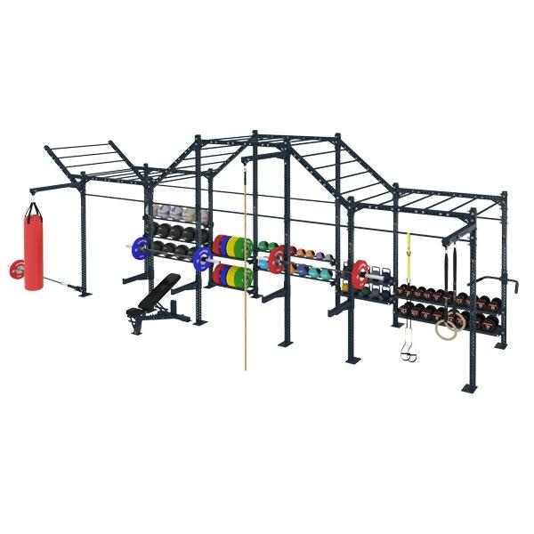 COMPETITION SERIES 5 CELL FREE STANDING MULTI FUNCTION RIG WITH STORAGE CSFS-5CMFR-ST