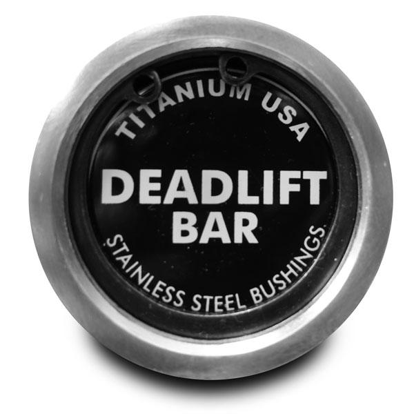 TITANIUM USA DEADLIFT BARBELL