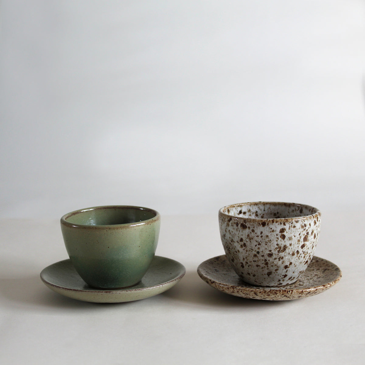Espresso Cup & Saucer Meadow Green