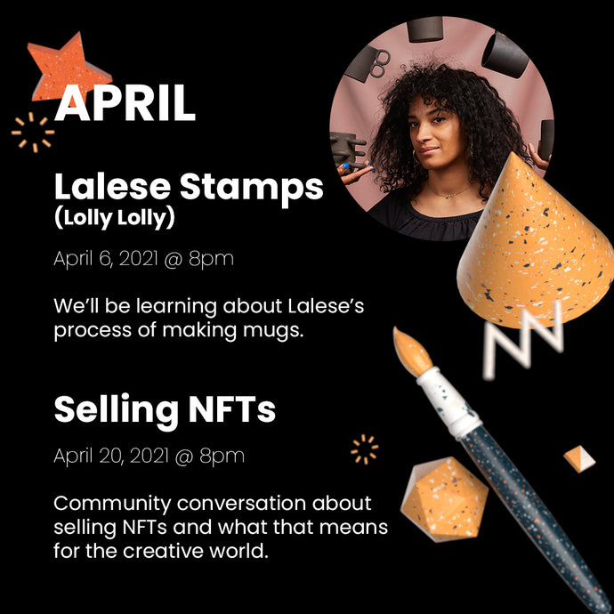 4/6/2021: Lalese Stamps (Lolly Lolly) Workshop