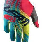Leatt GPX 1.5 GripR Tech Motocross Gloves - Red/Lime-Leatt-MADMACSMOTORCYCLES