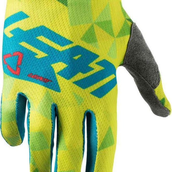 Leatt GPX 1.5 Junior Gloves - Lime/Teal-Leatt-MADMACSMOTORCYCLES