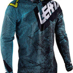 Leatt GPX 4.5 Lite Tech Motocross Jersey - Blue-Leatt-MADMACSMOTORCYCLES