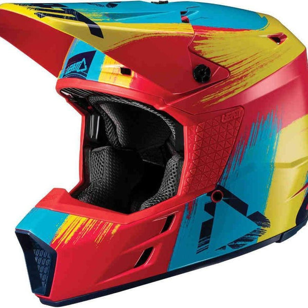 Leatt Helmet GPX 3.5 M - Red/Lim-Leatt-MADMACSMOTORCYCLES