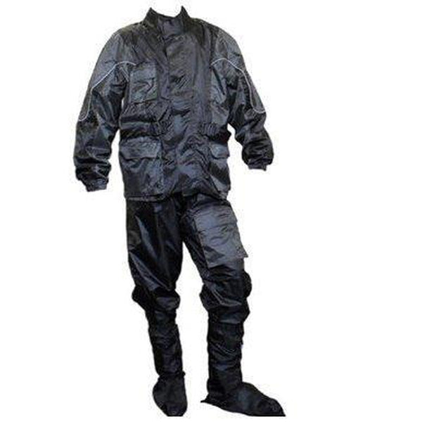 LMS waterproof suit Black/Grey-LMS-MADMACSMOTORCYCLES