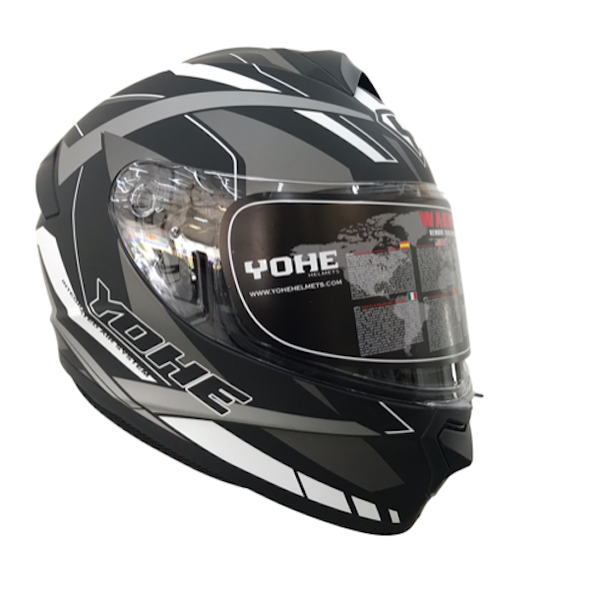 YOHE 977 2# Grey/White Helmet