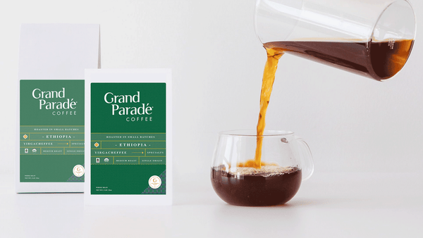 Grand Parade Coffee fresh organic Ethiopian Yirgacheffe Natural Unroasted coffee beans. Fair trade green coffee beans Ethiopia sidamo guji single origin whole bean