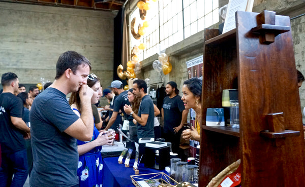 Sampling Coffee at the 2018 San Francisco Coffee Festival