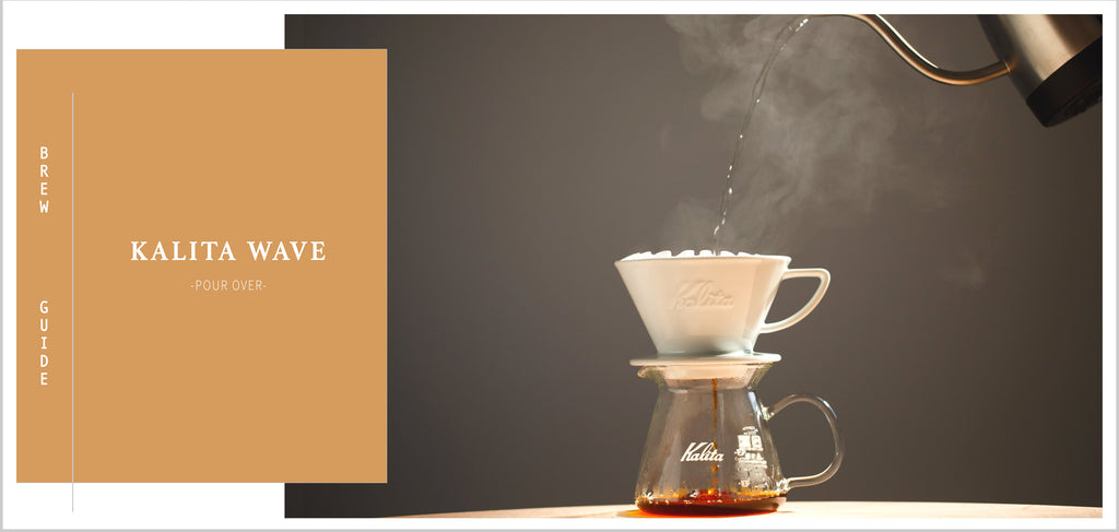 Grand Parade Coffee Kalita Wave Brew Guide, Making Pour Over at home