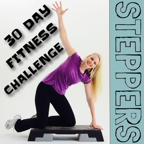 Steppers 30 Day Fitness Challenge Program