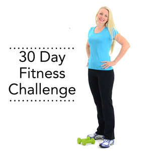 Free 30 Day Fitness Challenge