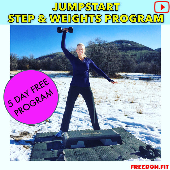 5 Day Jumpstart Step and Weights Fitness Program