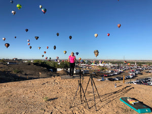 9th Trip, Albuquerque International Balloon Fiesta, 2018