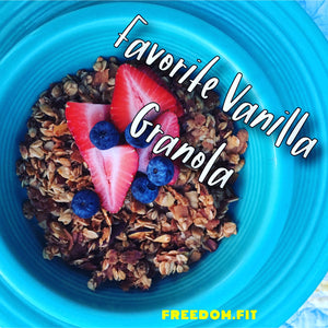 Favorite Quick and Easy Healthy Granola Recipe