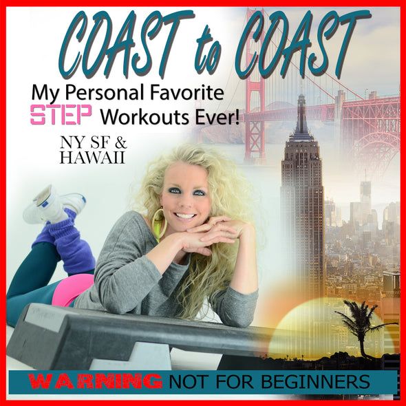 Jenny  Ford Fitness Step Coast to Coast
