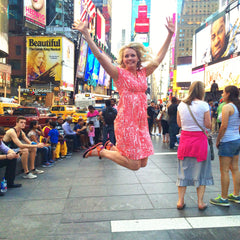 Times Square Step Across America Jenny Ford