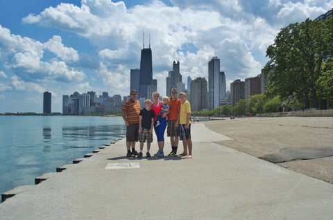 Chicago North Shore Step Across America Jenny Ford