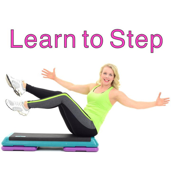 Jenny Ford Learn How To Do Step Aerobics