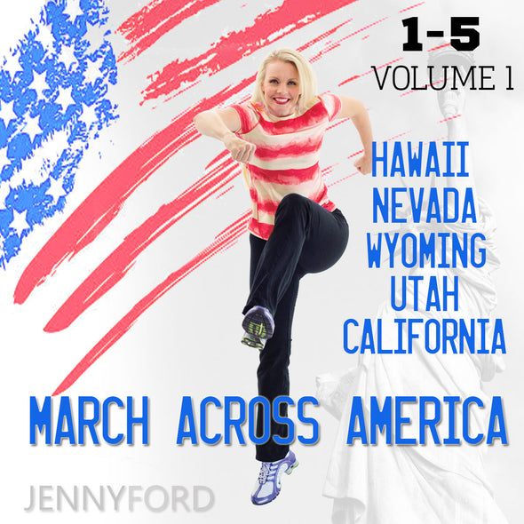 Jenny Ford Fitness March Across America