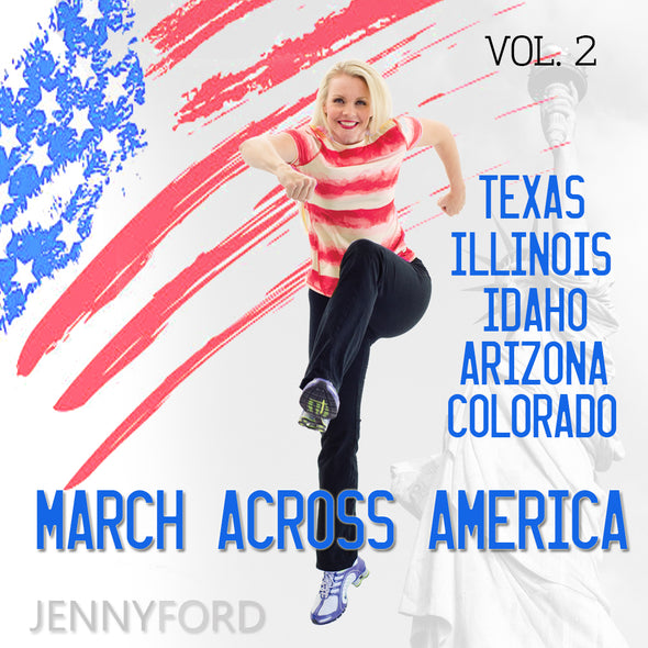 Vol. 2 March Across America Jenny Ford Fitness