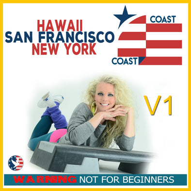 Vol. 1, Step Coast to Coast NY, SF, & Hawaii (Download)[Not Beginner]