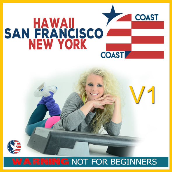 Vol. 1, Step Coast to Coast NY, SF, & Hawaii [Not Beginner]