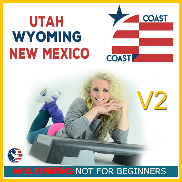 Vol. 2 Step Coast to Coast UT, NM & WY (Download) [Not Beginner]