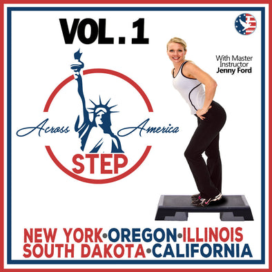 Vol. 1 Step Across America 1-5 (Download)[Beginner]