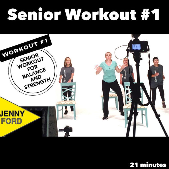 Senior Fitness Workout #1 Stability and Mobility Functional Fitness