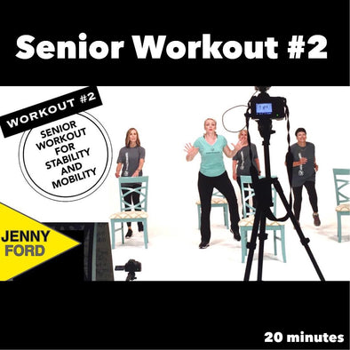 Senior Fitness Workout #2 Balance, Strength, and Mobility Functional Fitness