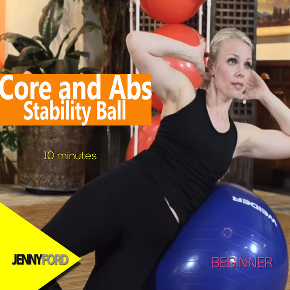 Core and Abs - Stability Ball