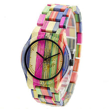 Montre Bambou Colors